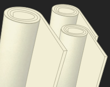 Rolls of Costume Foam