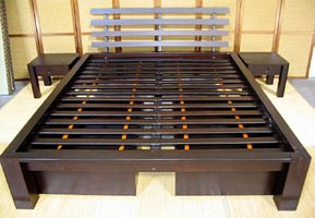 Beds with drawers that roll on floor