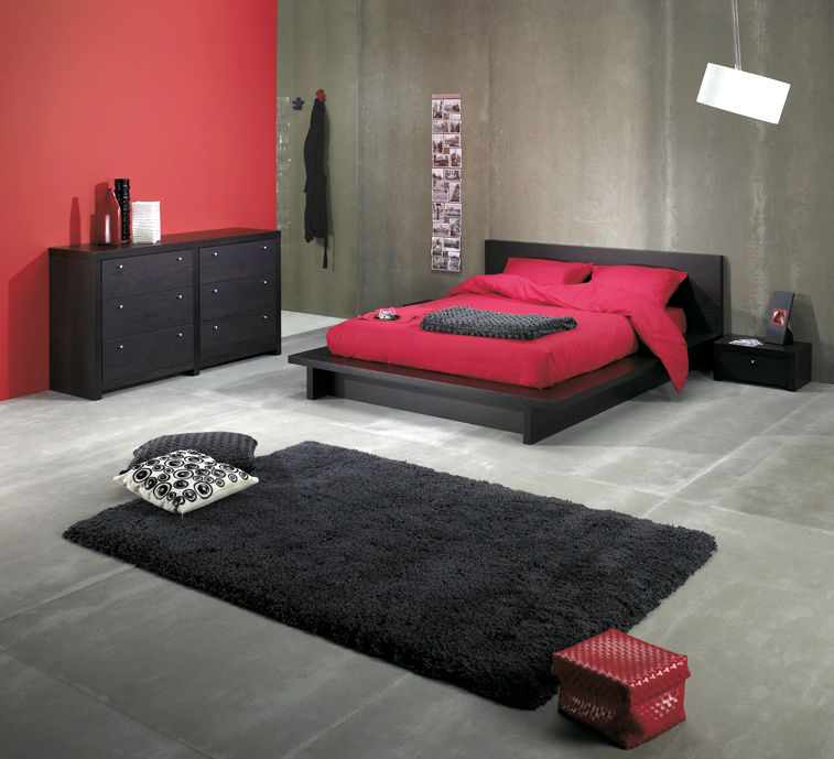 Contemporary Bedroom from foamorder.com