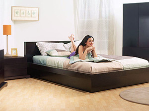 Floor bed frame On the floor bed frames