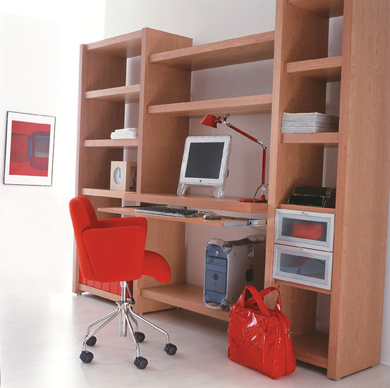 Another configuration idea for home office cherry finish for Home office configurations