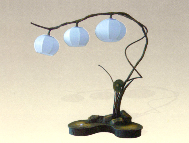 Paper mache lamp for How to make paper mache lamps