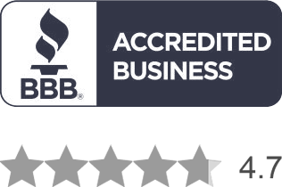 BBB A+ Rating, 4.7 stars