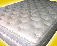 Diamond Quilted Case on a Foam Mattress