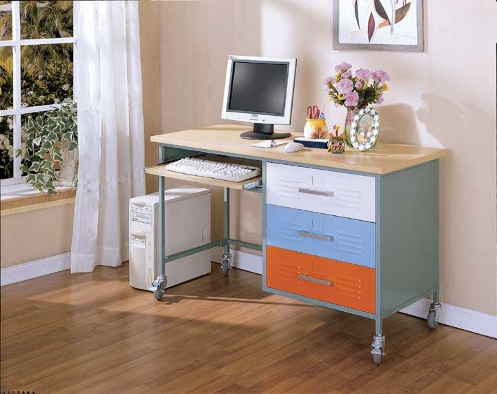 Teen Desk The Discontinued Pastel Color Scheme Is Shown Here Available In