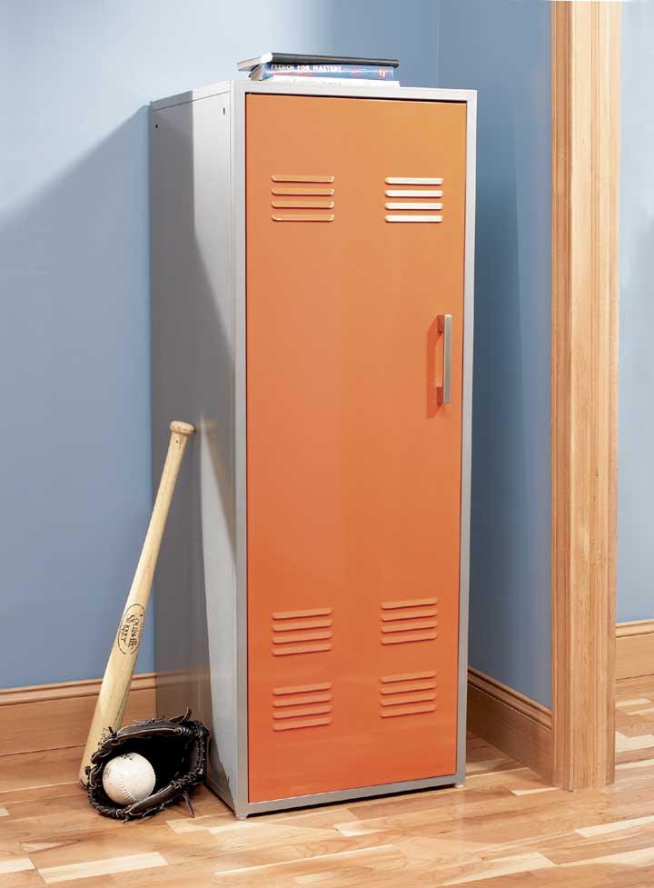 Teen Storage Locker In Orange