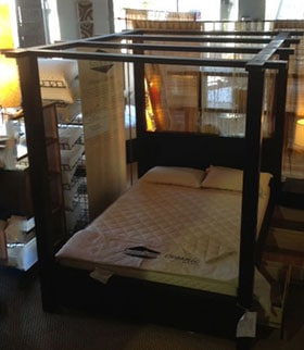 Canopy Storage Bed & Canopy Bed - Queen Canopy Bed - Designs by FOAM ORDER