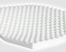 Egg crate foam mattress pad Yellow Foam Egg Crate Pad Foam Order Egg Crate Convoluted Foam Toppers Mattress Pads Foamorder