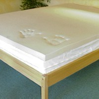 memory foam mattress pad Memory Foam Pad, Memory Foam vs Latex Mattress Pads | FoamOrder memory foam mattress pad