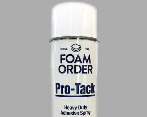 Spray foam glue