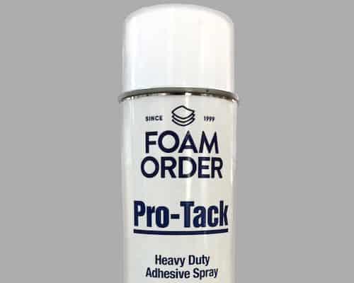 Spray foam glue