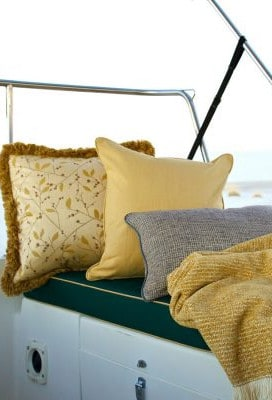 Boat Cushions and Pillows