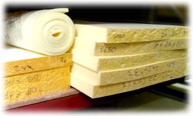 Custom High Density Memory Upholstery Foam Foamorder
